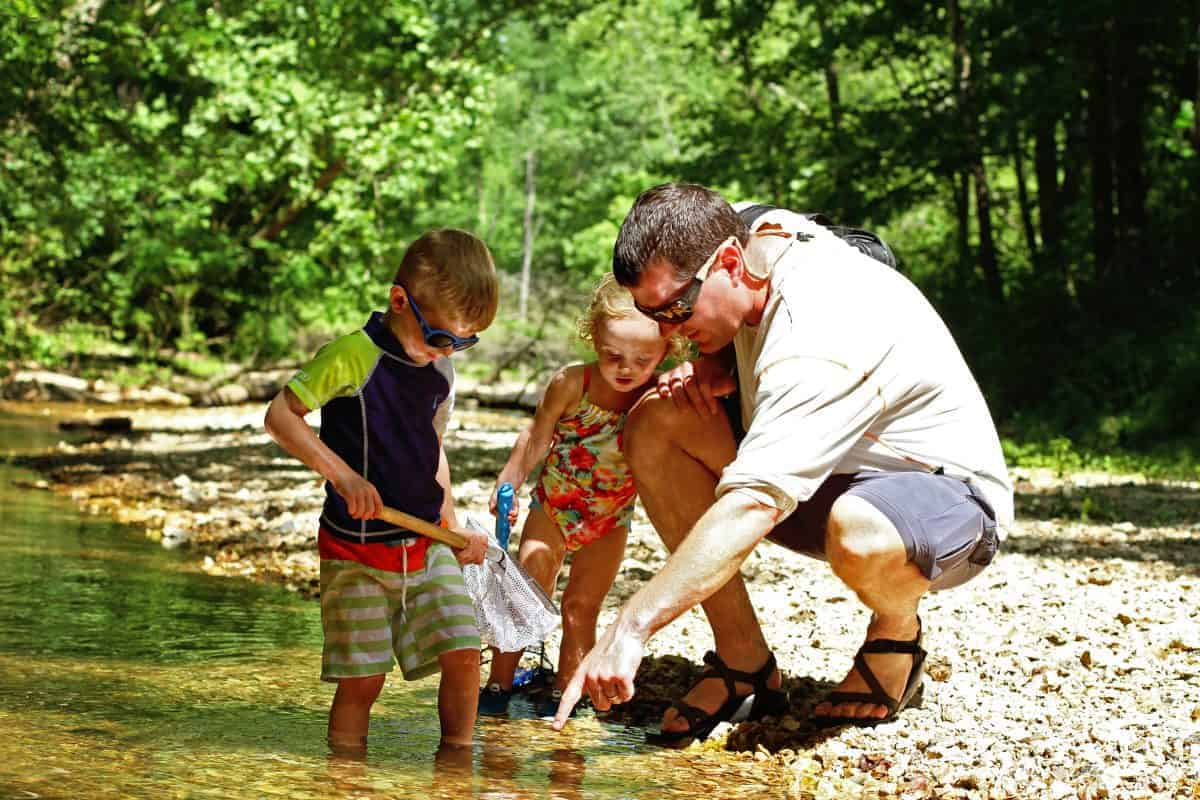 Benefits of Creeking with Kids