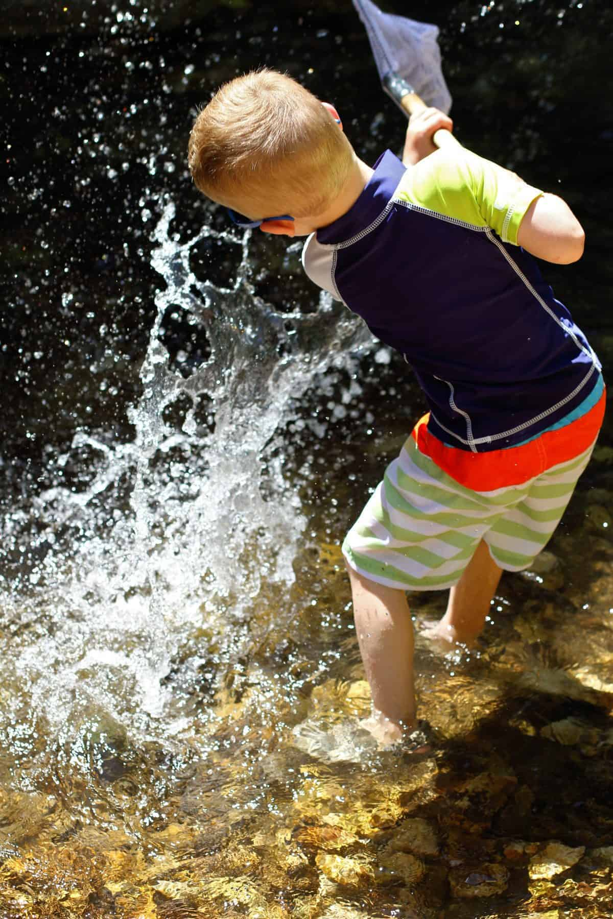 Benefits of Creeks for kids