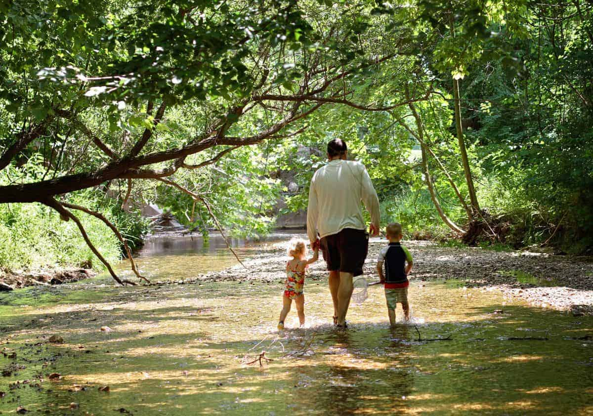 Benefits of Exploring Creeks with Kids