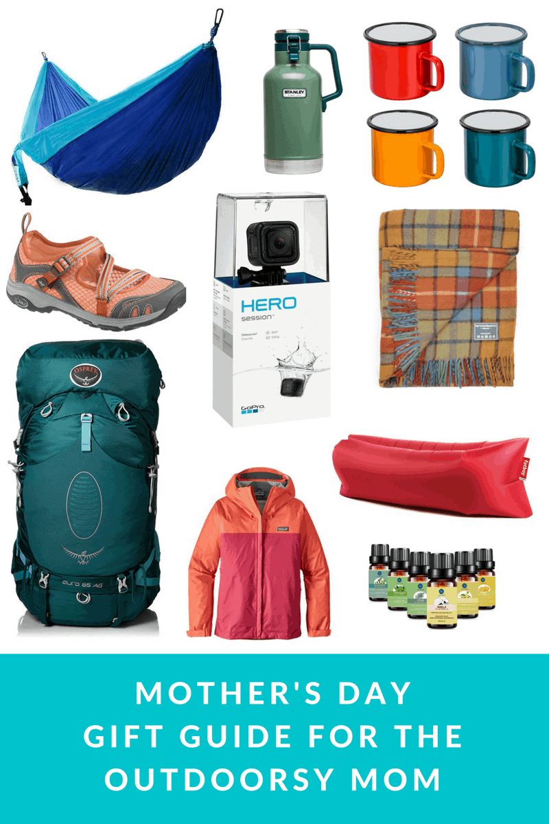 mother's day gifts for outdoorsy moms - gift guide for outdoor women