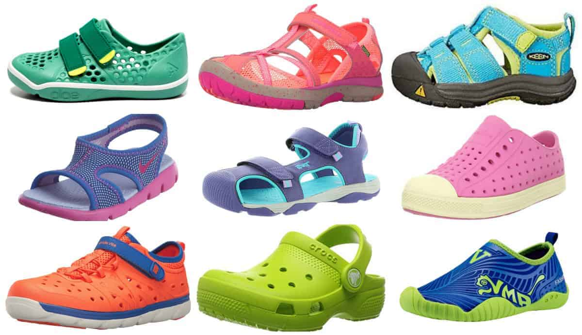 Summer Shoes and Sandals for Active Outdoor Kids