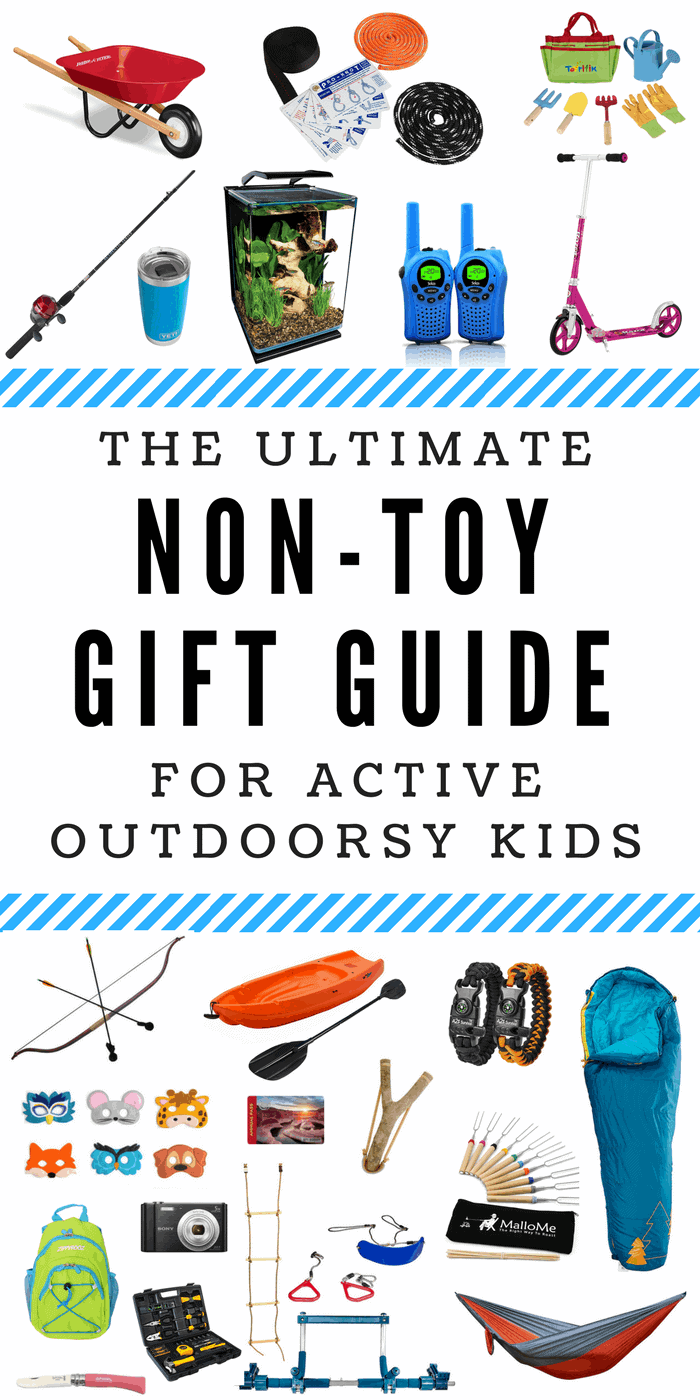 The Ultimate Non Toy Gift Guide For Active Outdoorsy Kids