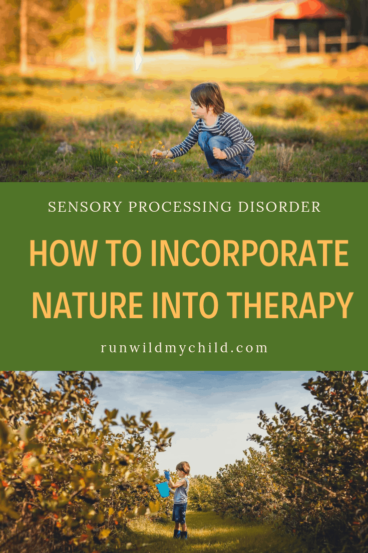 Talking Sense What Sensory Processing >> Sensory Processing Disorder How To Incorporate Nature Into Therapy