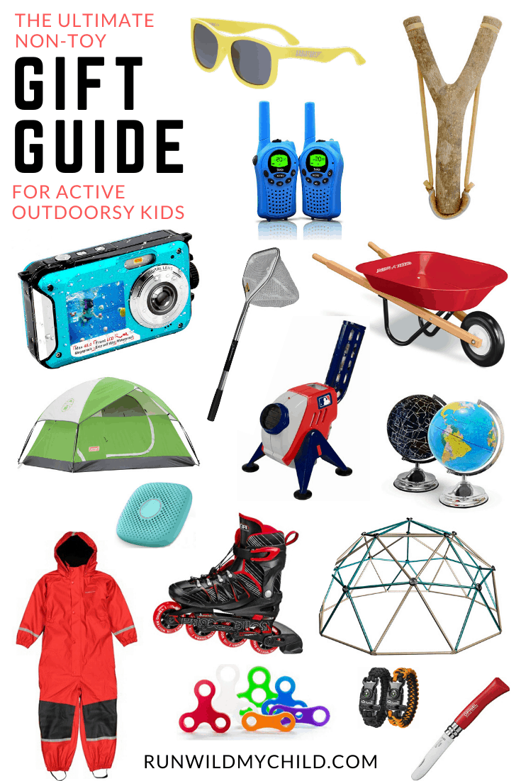 The Ultimate Non Toy Gift Guide For Outdoorsy Kids