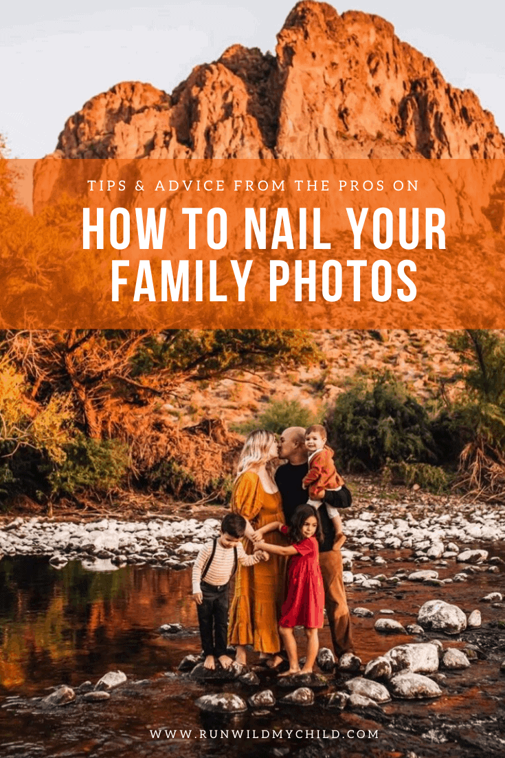 Outdoor Family Photo Ideas Tips Run