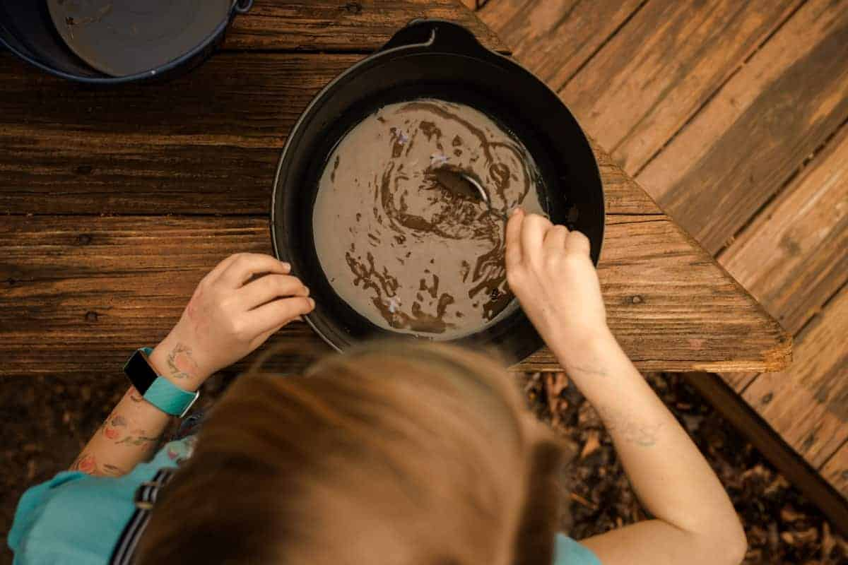 Mud activities for kids - Mud Soup