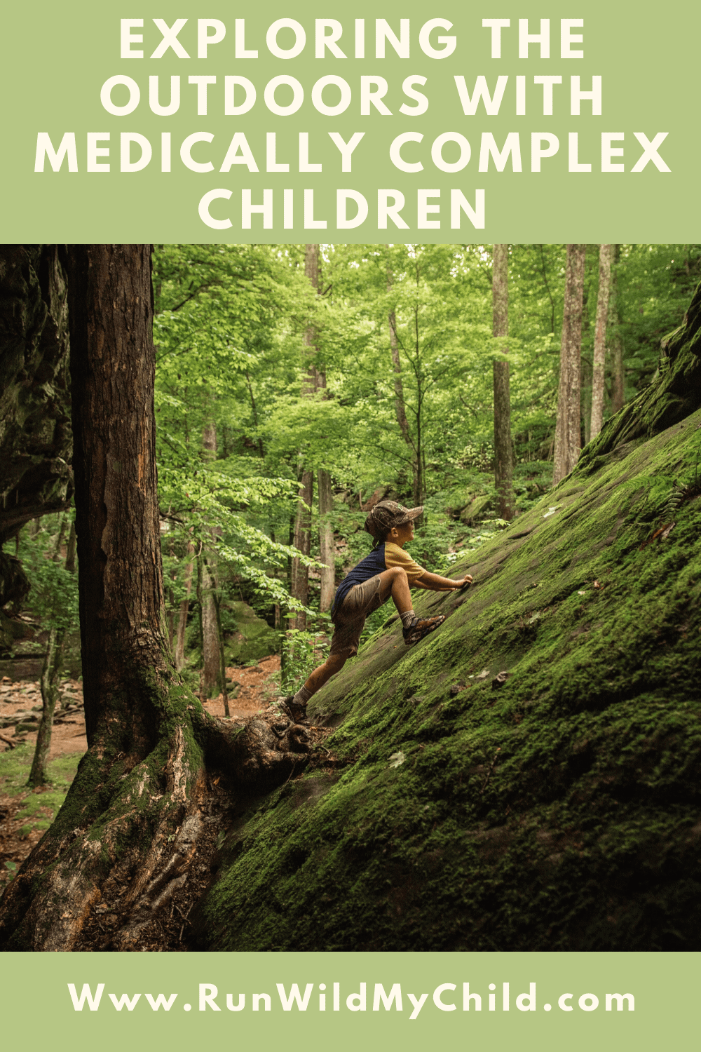 Exploring the outdoors with medically-complex children