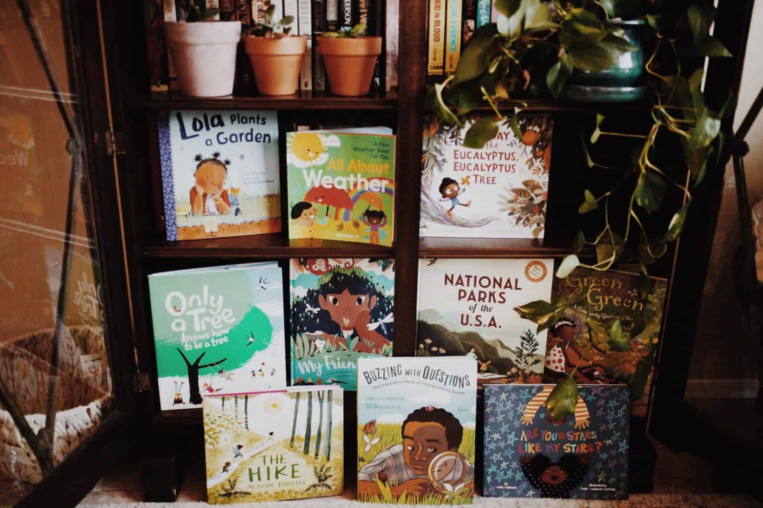 Diverse nature books for kids