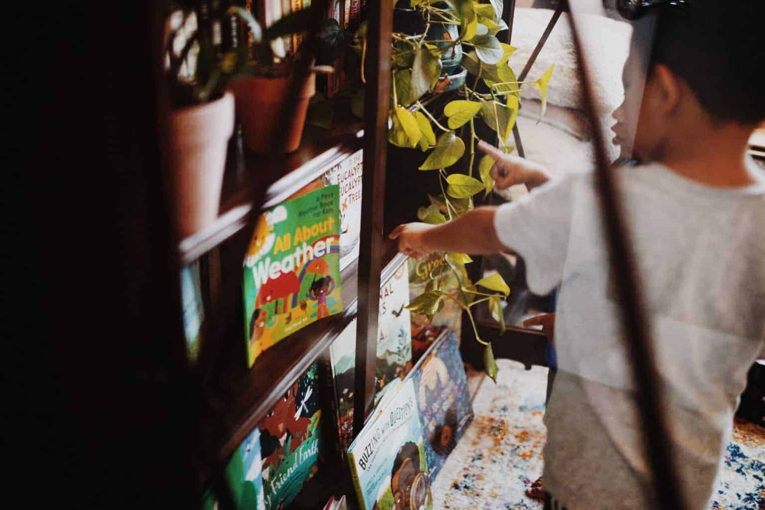 Creating a diverse nature book library for kids