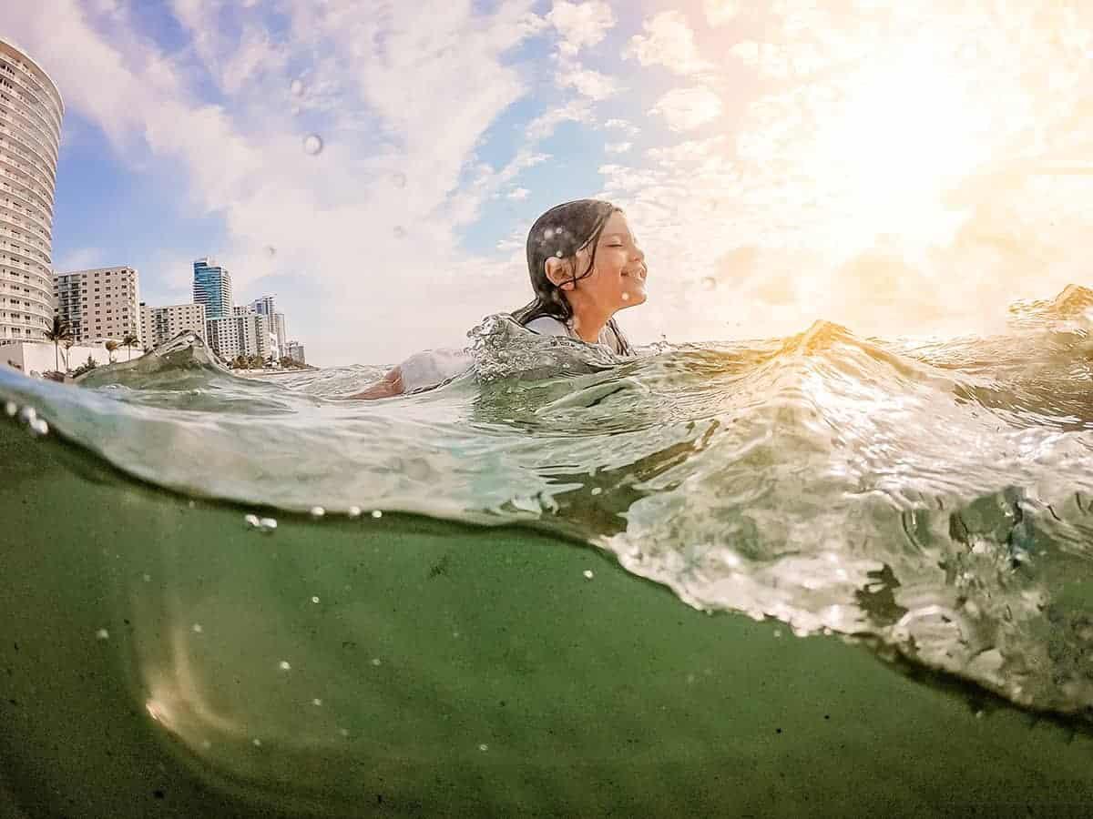 gopro beach photo