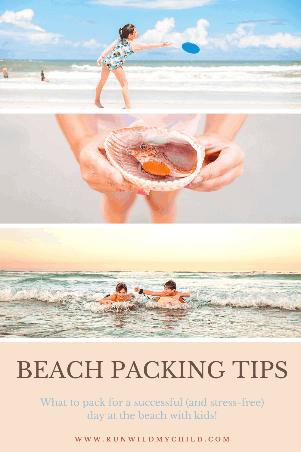 Day at the Beach Packing Tips