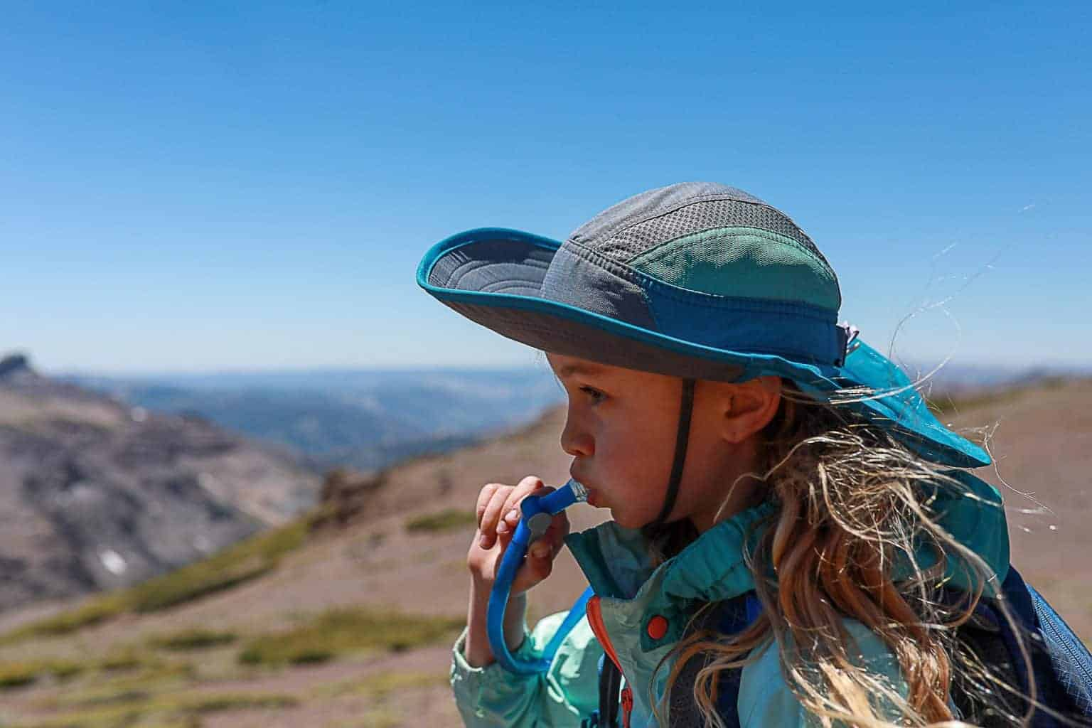 First Aid Sun Safety Hydration Blisters - how to prevent dehydration while hiking