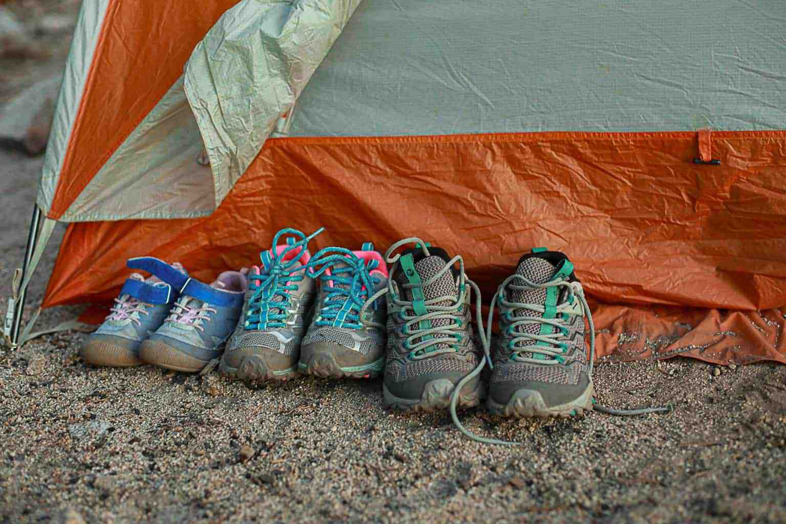 Best hiking shoes and socks for kids