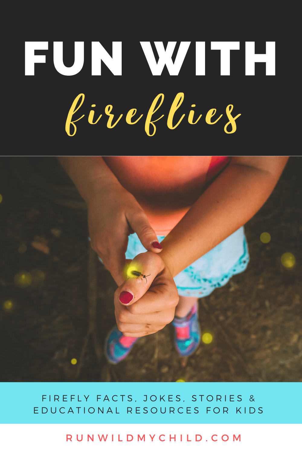Fun with Fireflies - educational resources for kids & nature study materials