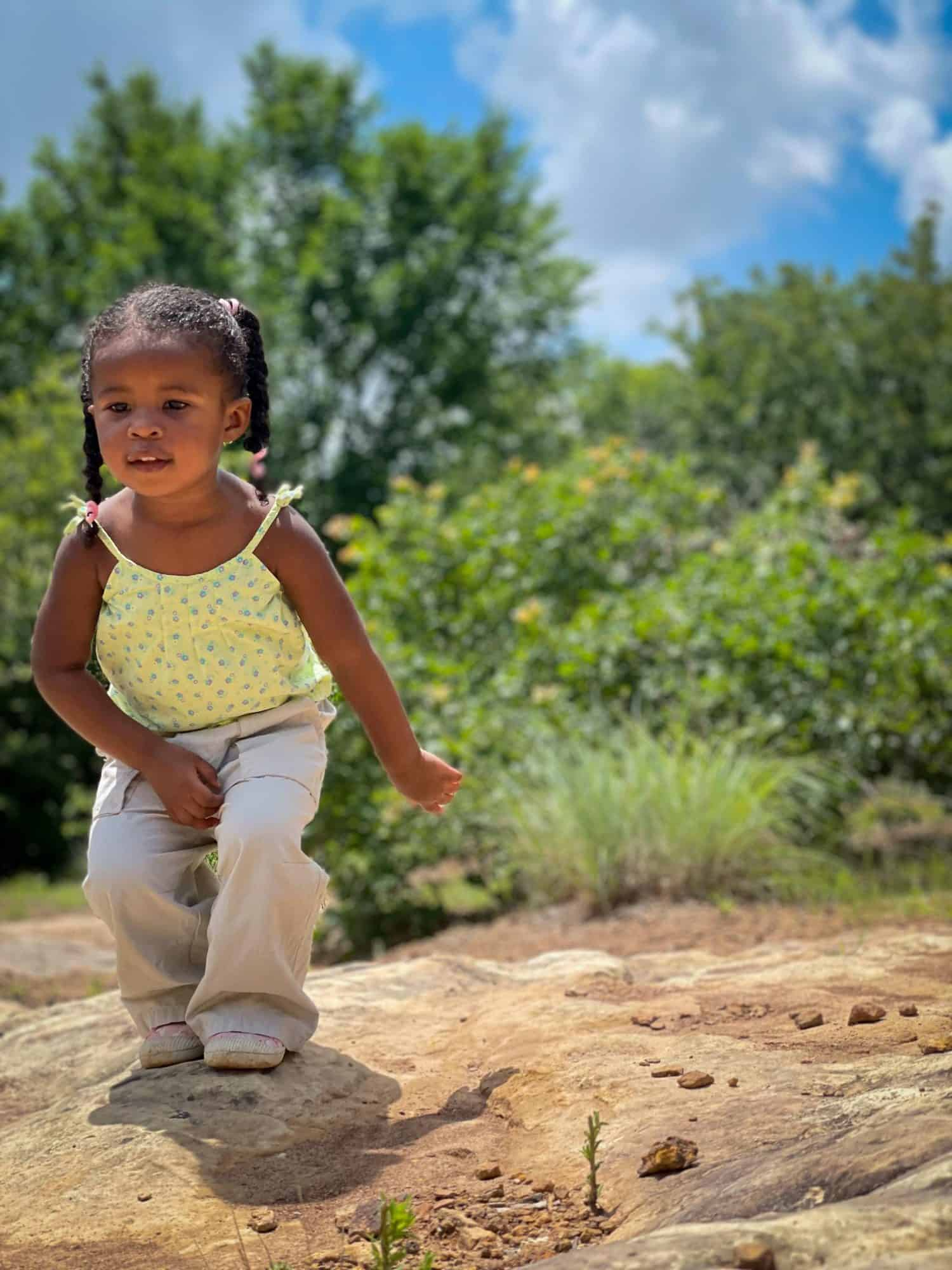 Learning About Nature with Kids - exploring nature around you