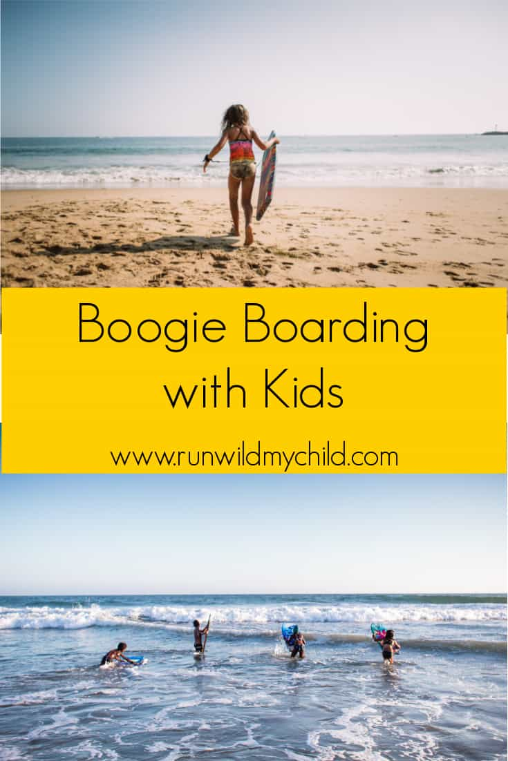 Boogie Boarding with Kids - tips and advice on how to get started.