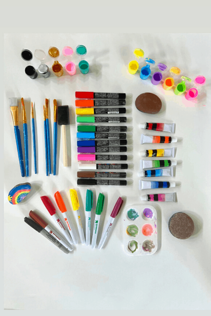 Art Supplies Needed for Successful Rock Painting